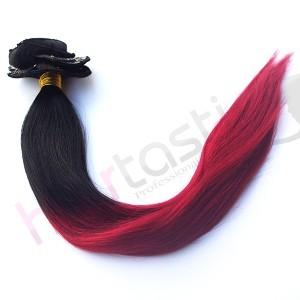 Dip Dye hår 1 / Röd